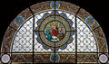 Stained-glass window 112 Royalty Free Stock Photography