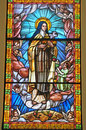 Stained glass window 2 Stock Image