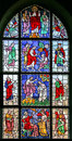 Stained-glass Window 21 Stock Photos