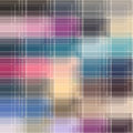 Stained glass window abstract pattern with imitation Royalty Free Stock Photography