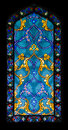 Stained glass window backgrounds and textures abstract colorful pattern Royalty Free Stock Photography