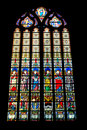 Stained window Stock Photos