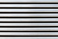 Stainless steel air vent closeup on building Royalty Free Stock Photo