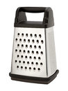 Stainless Steel Box Grater Royalty Free Stock Photo