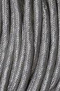 Stainless steel braid Stock Photo