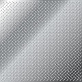 Stainless steel small diamond tread pattern Royalty Free Stock Photo