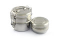 Stainless Steel Tiffin Box Royalty Free Stock Photo