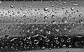 Stainless steel with water drops on the rounded surface background texture design element Stock Photography