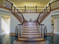 Stair Case Foyer Royalty Free Stock Photo