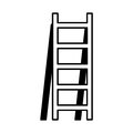 Stair construction tool isolated icon