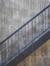 stair metal Royalty Free Stock Photo