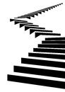 Stair in sky Royalty Free Stock Photo