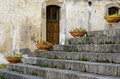Staircase in Cefalù Royalty Free Stock Photos