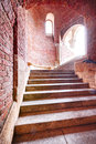 Staircase at Fisherman's Bastion, Budapest Royalty Free Stock Image