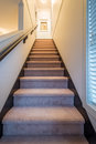 Staircase going upstairs Royalty Free Stock Photo