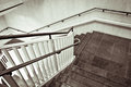 Staircase a modern interior in monochrome tones Royalty Free Stock Image