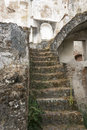 Staircase ruine from Moura castle Royalty Free Stock Photo