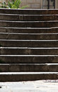 Staircase steps with shadow Royalty Free Stock Photo
