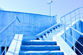 Staircase to blue sky Stock Images