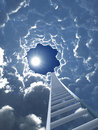 Staircase to heaven Royalty Free Stock Photo
