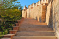 Stairs Alcazaba Stock Photography