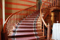 Stairs in castle Royalty Free Stock Photography