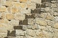 Stairs in fortress wall Stock Image