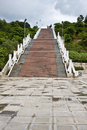 Stairs leading to war memorial in dien bien phu vietnam Stock Images