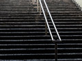 Stairs in metro Royalty Free Stock Photo