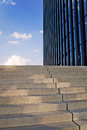 Stairs and modern building staris office Royalty Free Stock Photos