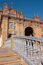 Stairs, plaza de espana Royalty Free Stock Images