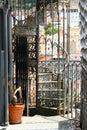 Stairs of Santa Justa elevador Royalty Free Stock Photo