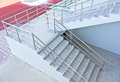 Stairs into the stadium sport Royalty Free Stock Photos