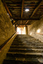 Stairs stony to the cross Royalty Free Stock Photos