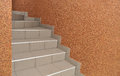 Stairs to descend or ascend the interior Royalty Free Stock Photo