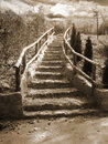 Stairs to the heaven Royalty Free Stock Photo