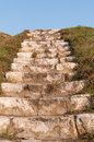 Stairs to heaven stone provide directly Stock Image