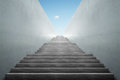 Stairs from underground upward Royalty Free Stock Photo