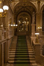 Stairs in the vienna state opera Stock Images