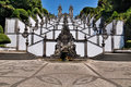 Stairway of Bom Jesus do Monte, Braga, Portugal Royalty Free Stock Photo