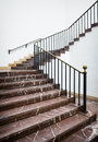 Stairway historic indoors nice background Stock Photography