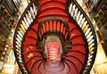 Stairway of Lello Bookstore Royalty Free Stock Photo