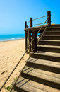 Stairway to the beach Royalty Free Stock Images