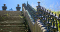 Stairway to early th century leading nowhere Stock Photography