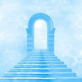 The stairway to heaven Royalty Free Stock Image