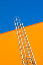 Stairway to heaven fragment of industrial architecture abstract background Royalty Free Stock Images