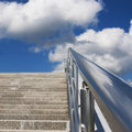 Stairway to heaven view of going Royalty Free Stock Photo