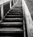 Stairway to salvation image taken at the riverbend findlay ohio reservoir Stock Photography