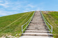 Stairway to Top of Mount Trashmore in Virginia Beach