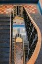 Stairways, Puebla, Mexico Royalty Free Stock Photo